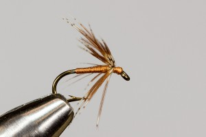 Partridge and orange soft hackle fly